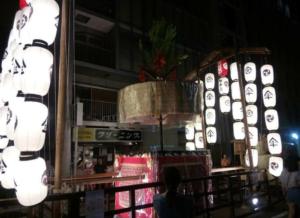 祇園祭 傘鉾