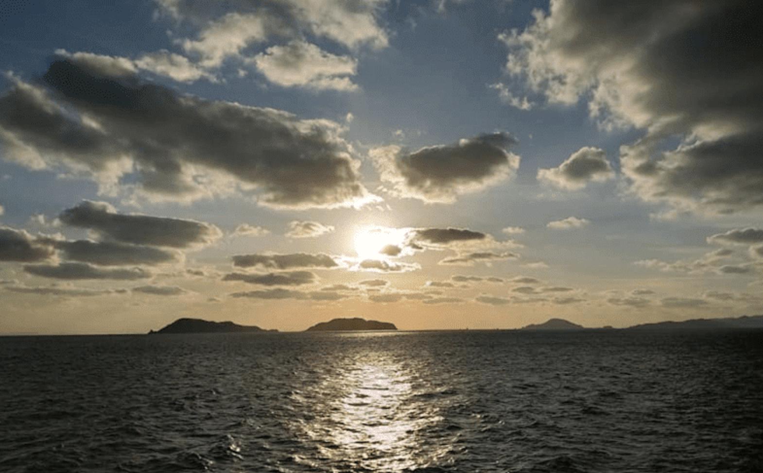 宇和海の眺め