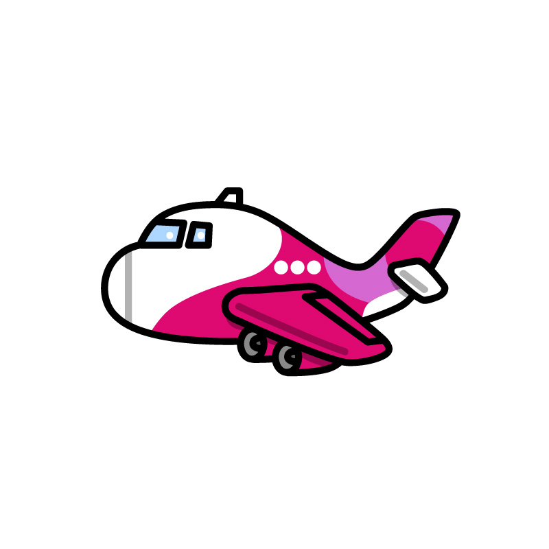 LCC飛行機のイメージ